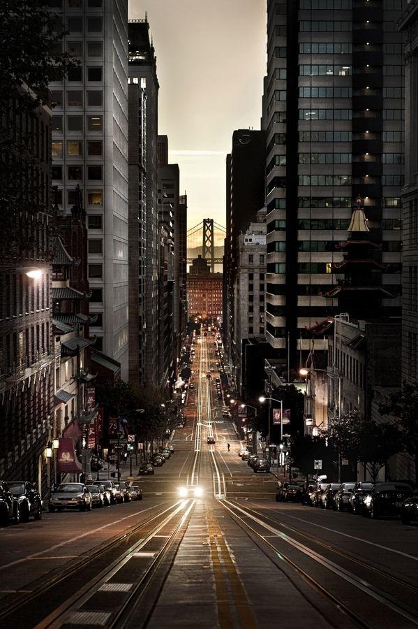 Dusk San Francisco California Usa Photo Via Besttravelphotos