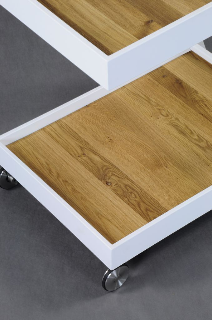 Alfred#trolley#interiordesign#home#steel #modern#kitchen#wood#oak#Lestrocasa