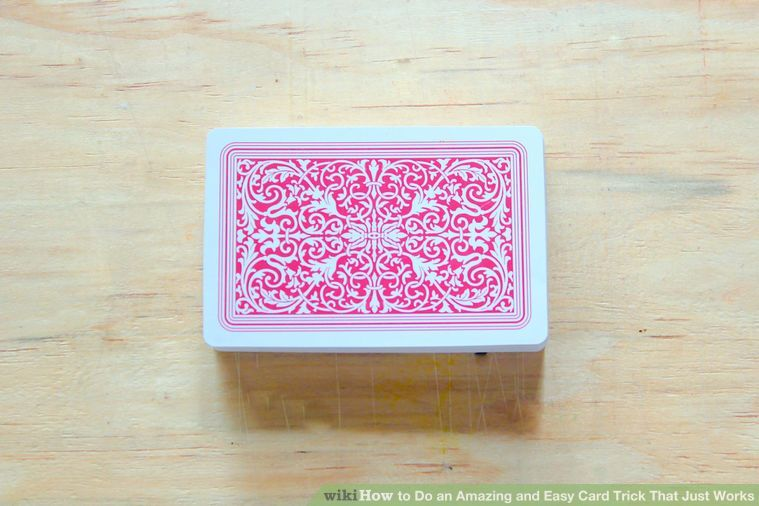 How to Do an Amazing and Easy Card Trick That Just Works: 13 Steps