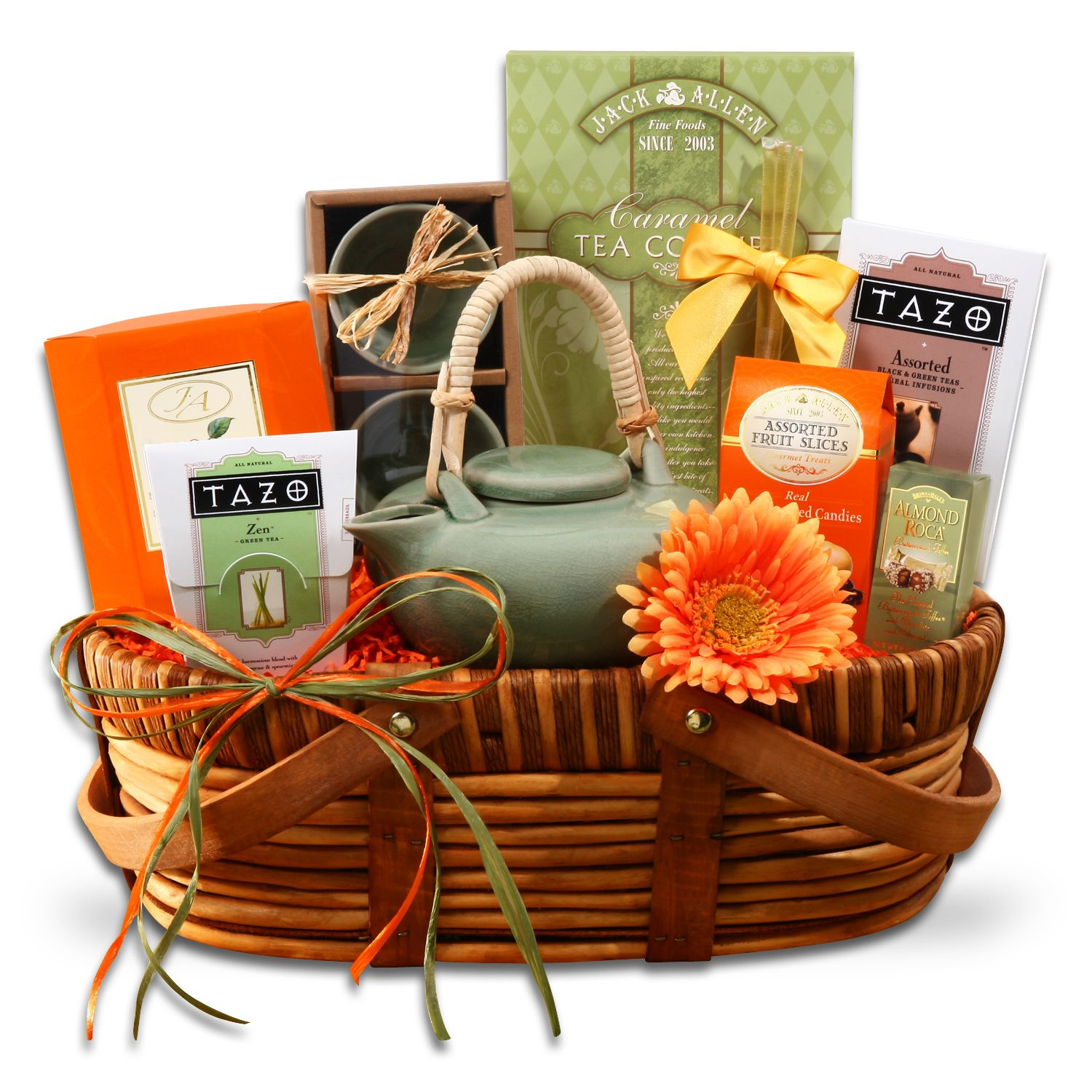 A time for tazo tea tea gift baskets best gift baskets