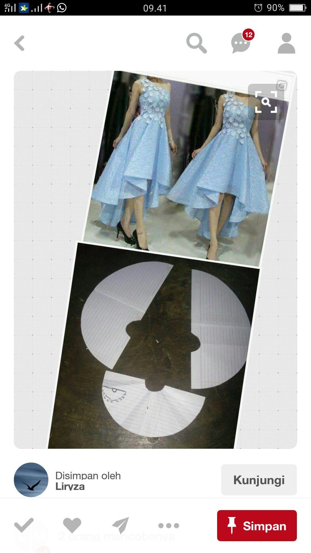 Front shot long back shirt pinterest patterns pattern for skirt high low fishtail extra full skirt jeuxipadfo Gallery