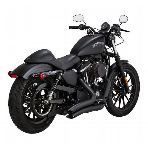 Vance Hines Big Radius Exhaust For Harley Sportster 2014 2020 Classic Harley Davidson Harley Davidson Chopper Harley Davidson Knucklehead