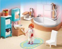 Playmobil - Salle de bain avec baignoire   Playmobil   Pinterest ...
