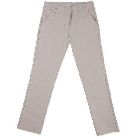 Plus Size George Girls Plus School Uniforms Flat Front Pant Size