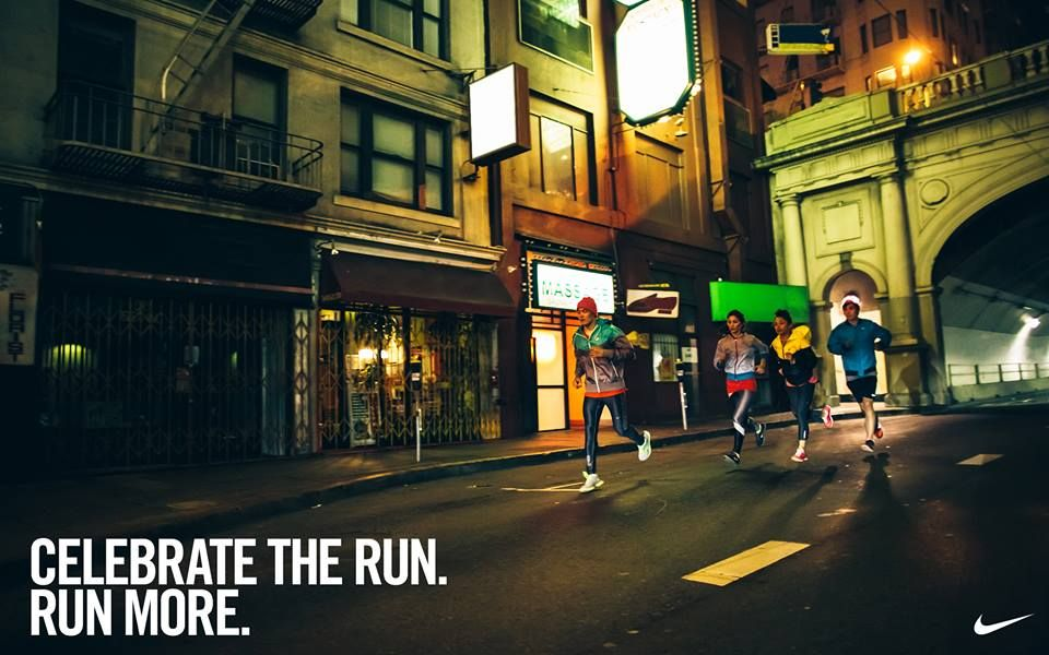 Run more.