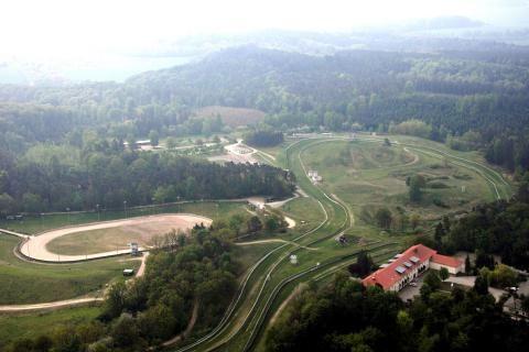 #Bergring in #Teterow - größte Gras-Rennbahn in ganz Europa Foto: Simone Pagenkopf / NK #meckpomm #mecklenburg #motorsport