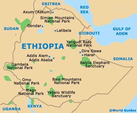 map of ethiopia with major cities Google Search MAPS Pinterest