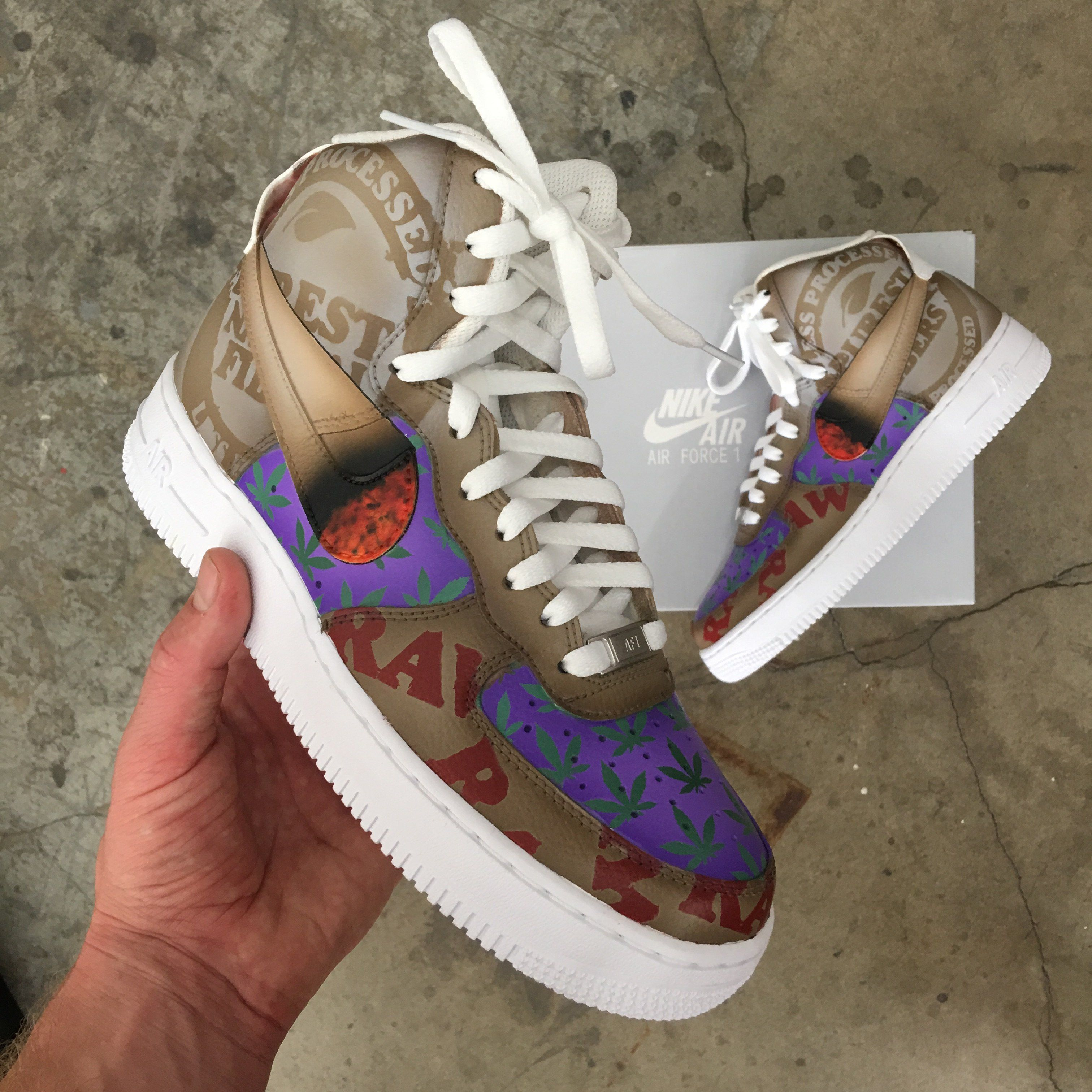raw nike air force ones for sale