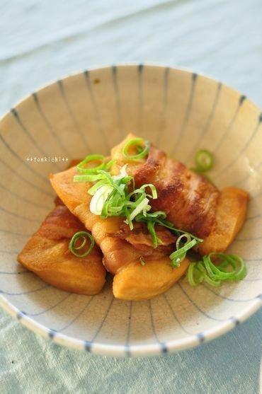 豚バラ高野のポン酢煮