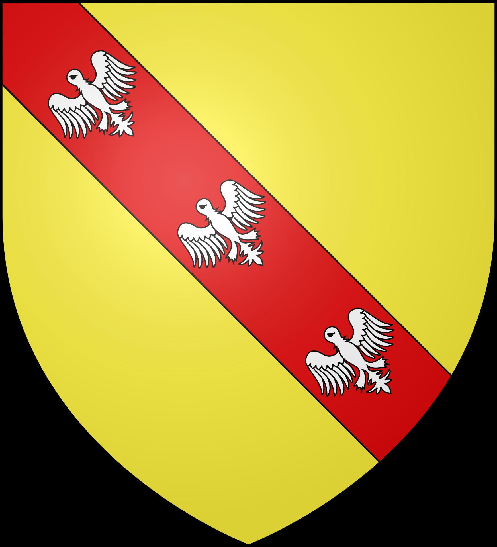 Upper Rhenish Circle Duke of Lorraine. Blason, Svg