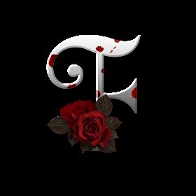 Marcos Gratis Para Fotos Letras Png Con Rosa Letras Para Photoshop Rosas Rojas Letras Png Letras Flores