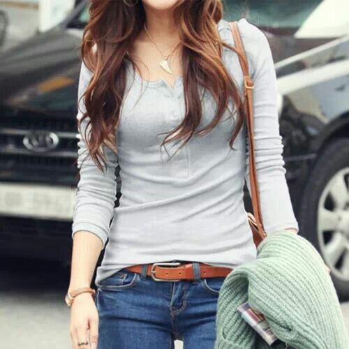 Like her t-shirt