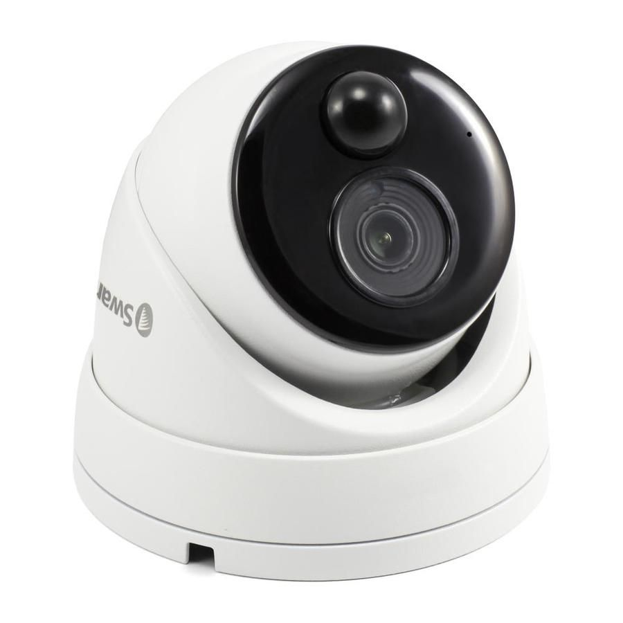 Night Vision and Two-Way Audio 4X Digital Zoom P2 Black P2 White Pan//Tilt Control Dericam Home Security Camera,1080P Full HD WiFi IP Security Camera with Stylish Appearance Design