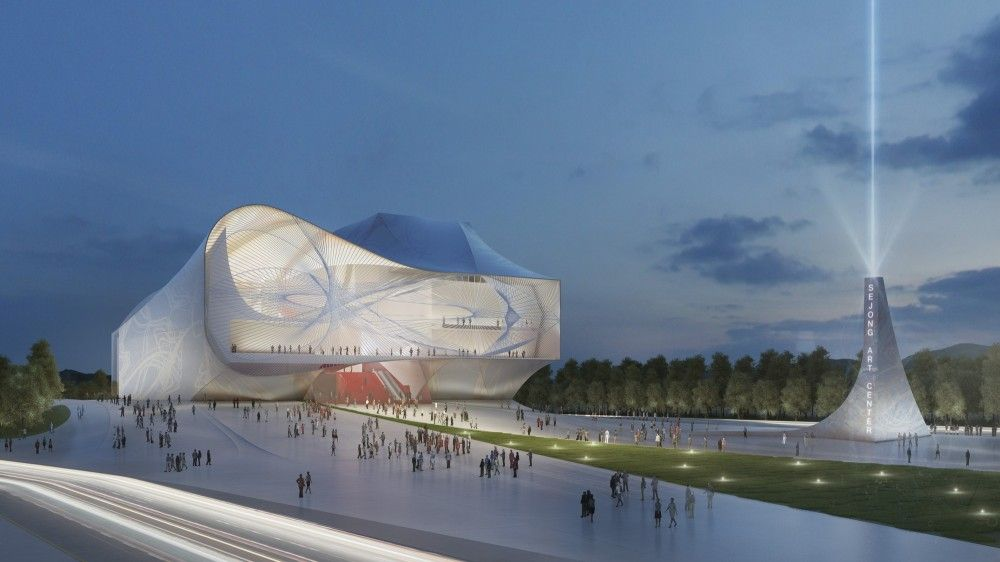Sejong Center for Performing Arts / Asymptote Architecture