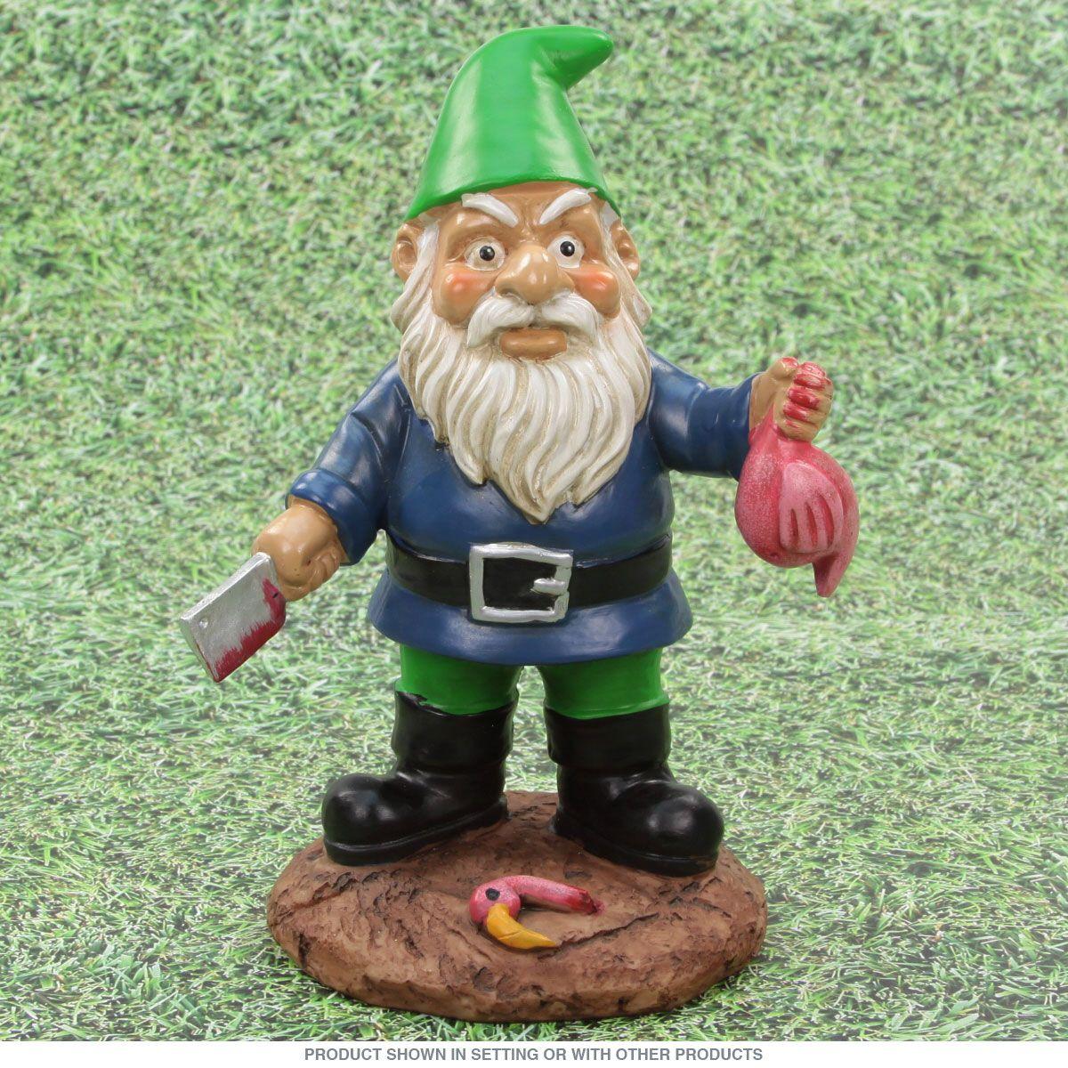 Butcher Garden Gnome Lawn Statue_D | Gnomes, Lawn and Gnome garden