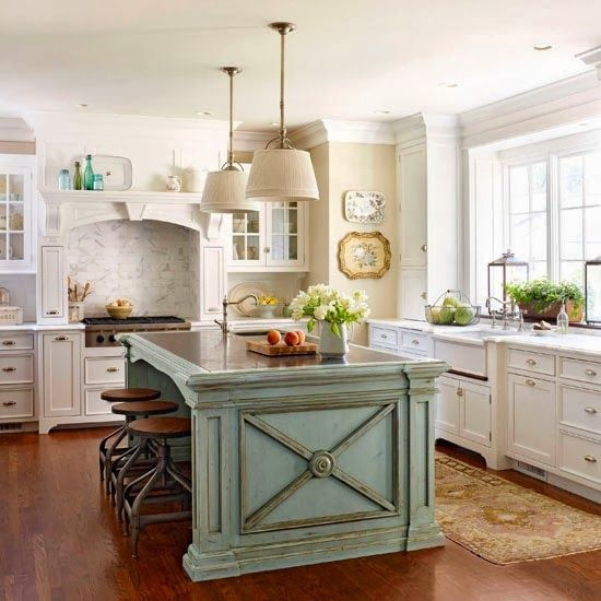 French country cottage french cottage kitchen inspiration french country kitchens pinterest - Pictures of country cottage kitchens ...