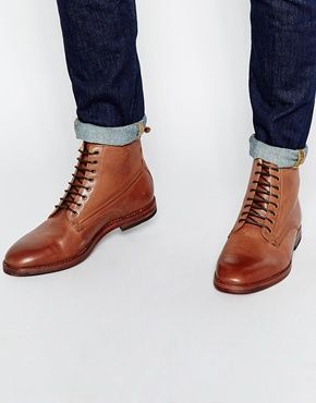 H By Hudson Forge Lace Up Boots