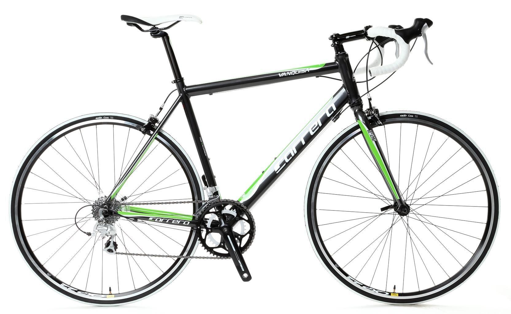 Featuring a terrific spec and design, the Carrera Vanquish Road Bike