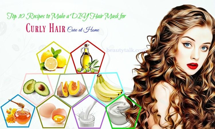 Revealed: Top 10 Recipes For DIY Hair Mask For Curly Hair ...