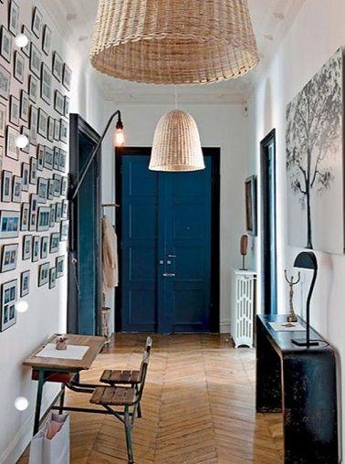 10 d co couloir qui donnent des id es couloir coli re. Black Bedroom Furniture Sets. Home Design Ideas