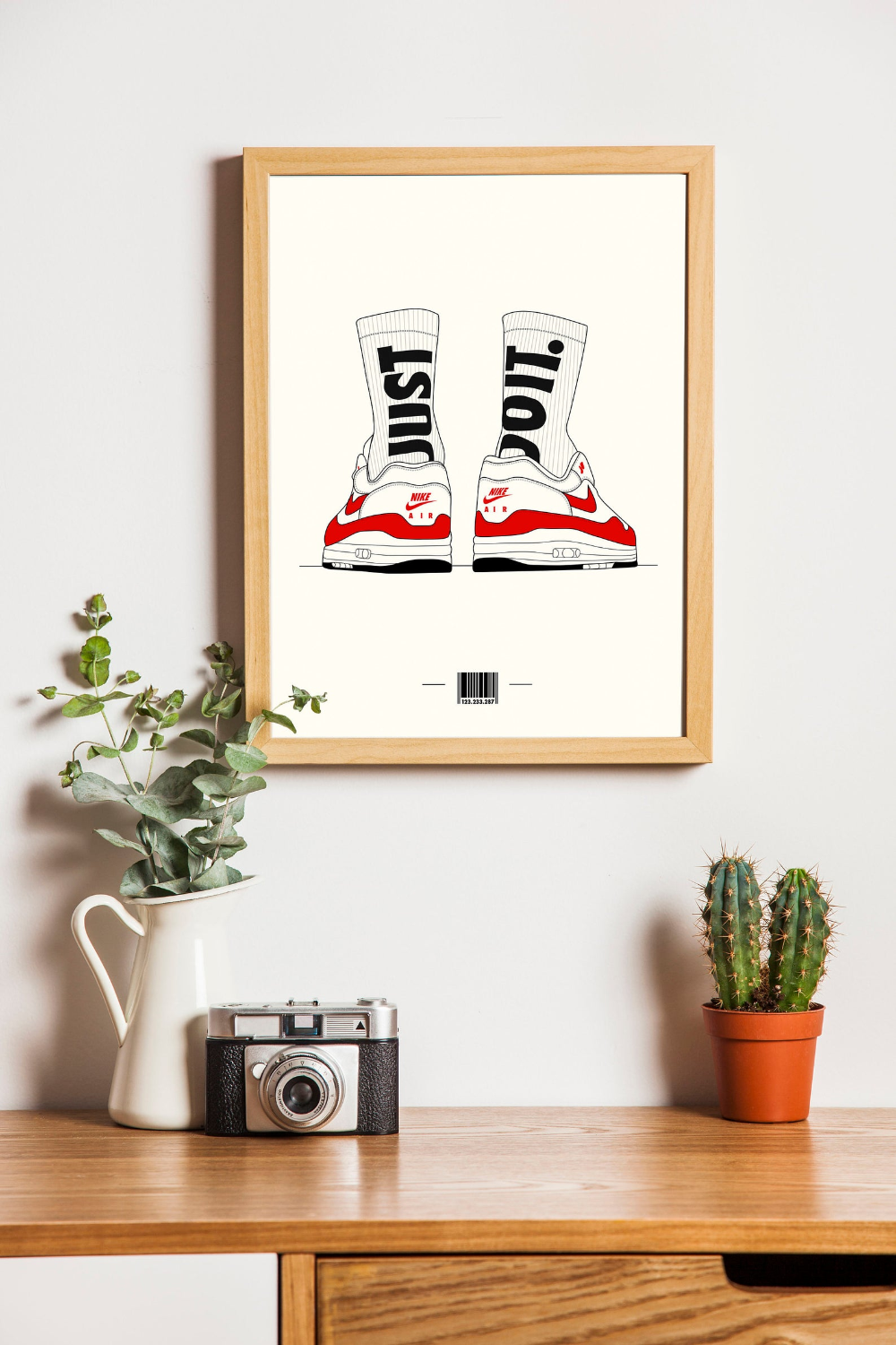 Affiche illustration sneakers nike air max 1/poster | Etsy | Deco ...