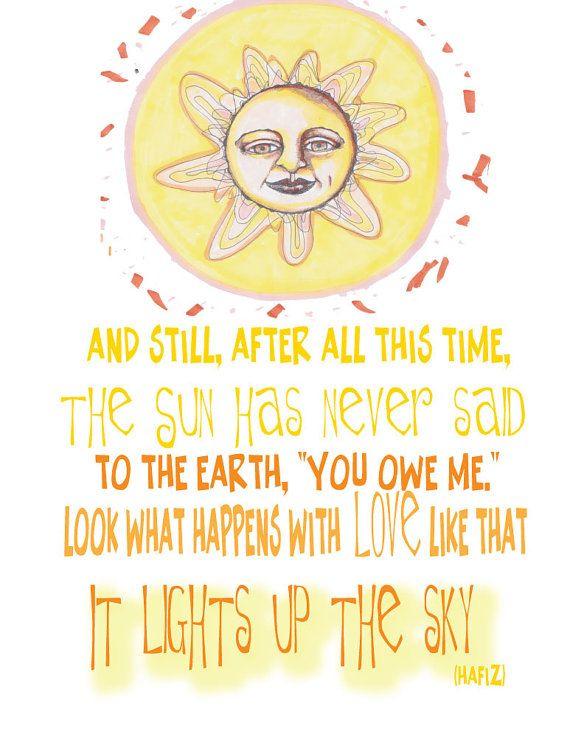 Whimsical Sun Illustration Illustration With by ArtThatMoves ...