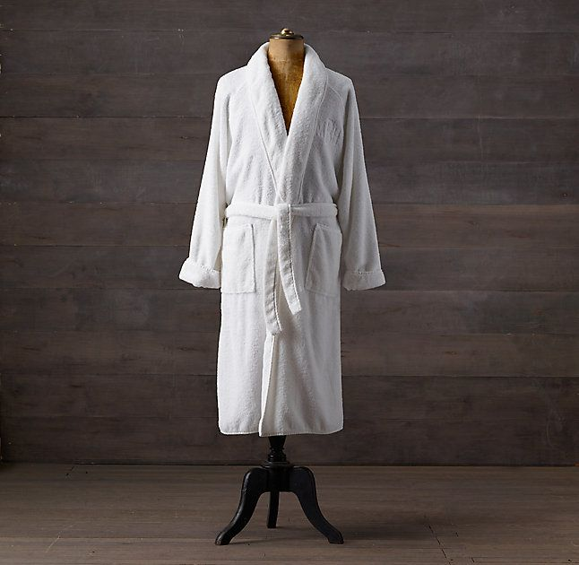 13a13e2dd5 RH s Garment-Washed Turkish Terry Robe FREE SHIPPING ON ORDERS OVER  50 Terrycloth originated
