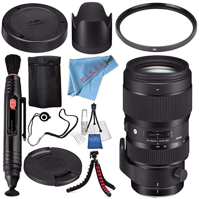 Sigma 50 100mm F 1 8 Dc Hsm Art Lens For Nikon F Accessory Kits