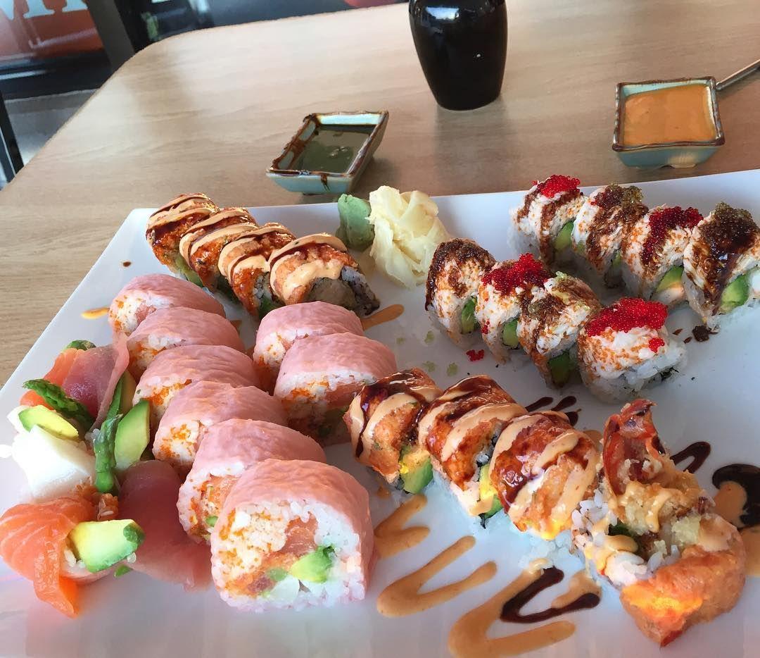 We're just feeding our Sushi addiction. #FoodChasers #AmblerPa #FoodChasersSushi