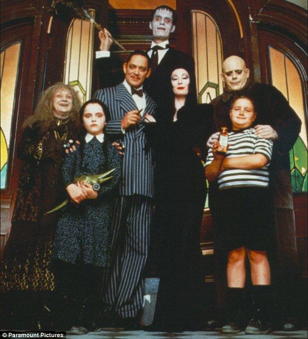 the addams family 1991 cast