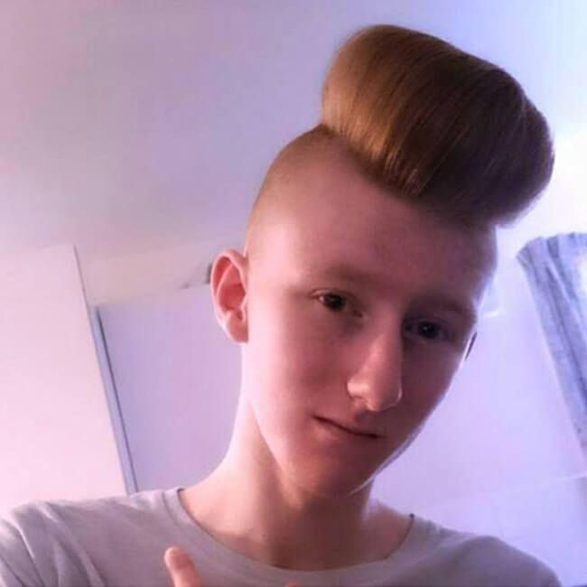 30 Weird Haircuts That Are So Bad They Must Be Good Weird Haircuts Wild Hair Cool Haircuts