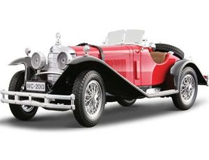 The burago mercedes benz ssk 1928 is a diecast model for Mercedes benz ssk 1928 burago