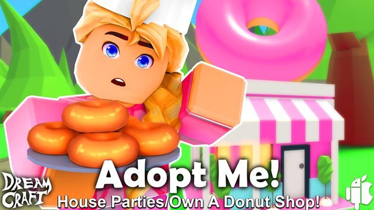 Adopt Me Em Portugues Roblox In 2020 Roblox Adoption Donut Shop