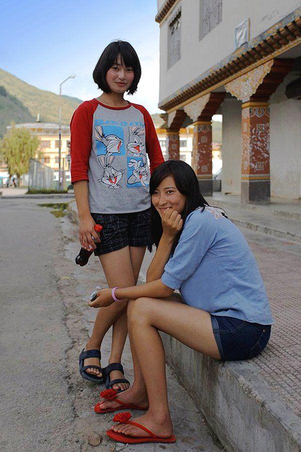 Beautiful bhutanese girls