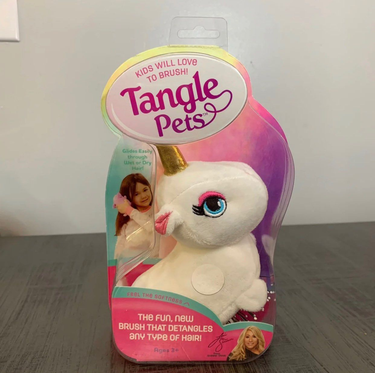 Tangle Pets Hair Brush Unicorn Plush New Mercari Unicorn Plush