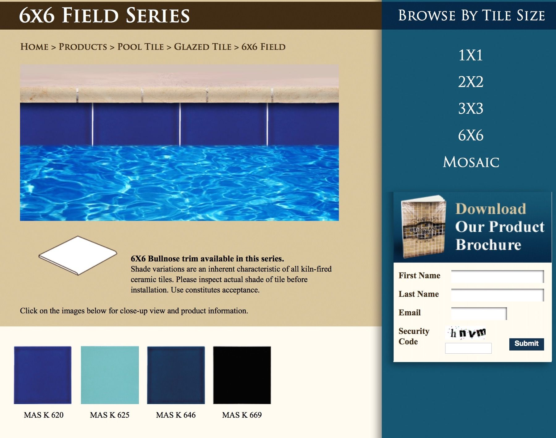 6x6 solid color from master tile swimming pool spa pinterest 6x6 solid color from master tile ppazfo