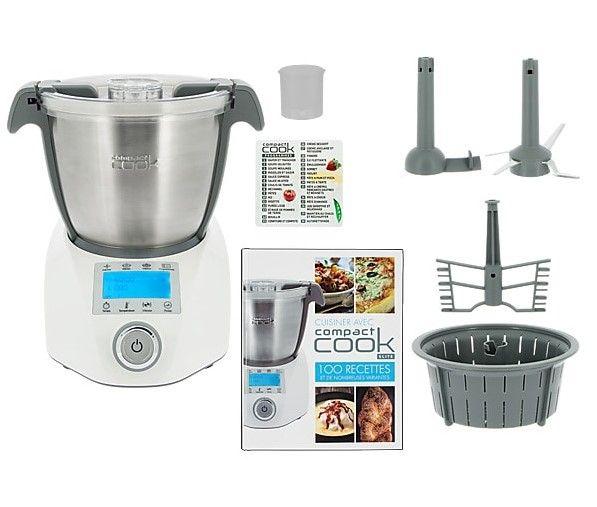Compact Cook Elite Robot De Cusine Multifonction Pas Cher Robot De Cuisine M6 Boutique Iziva Com Robot Cuisine Robot Cuisine Multifonction Cuisine