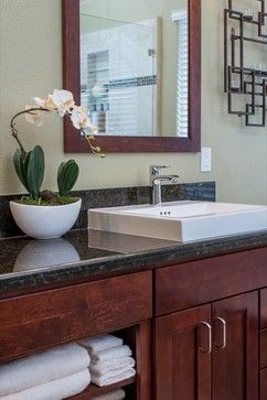 Bath Remodeling Kitchen Remodeling Remodel Works San Diego Ca Ronbow Cherry Cabinets Bathroom Cherry Cabinets
