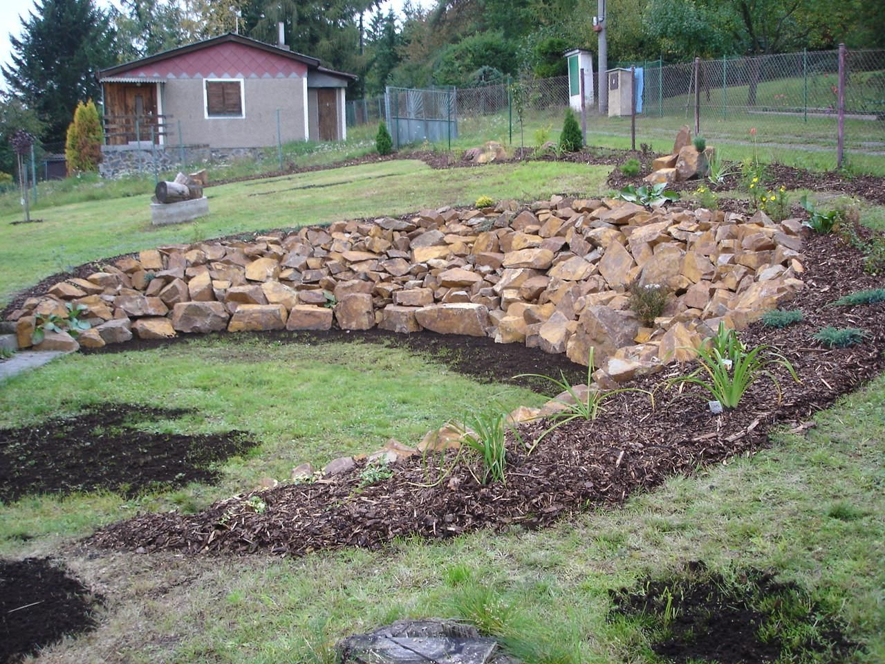 Love this landscaping solution steep slope   Backyard ... on Steep Sloped Backyard Ideas id=48061