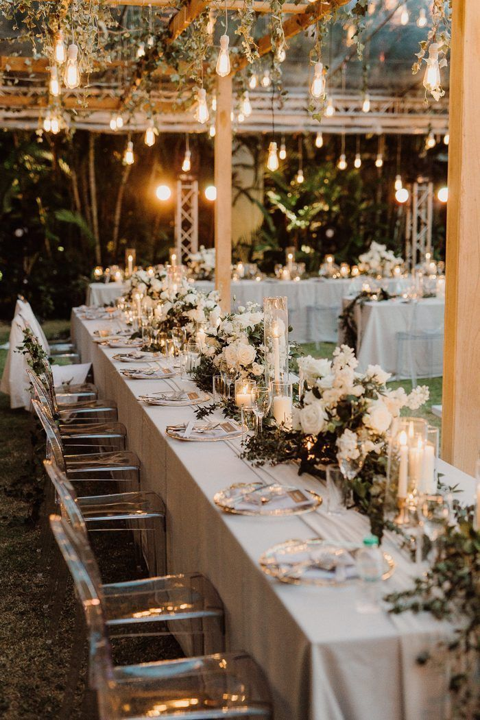 Don T Forget These 10 Unexpected Expenses When Planning Your Wedding Budget Image By A Winter Wedding Table Decorations Wedding Expenses Winter Wedding Table