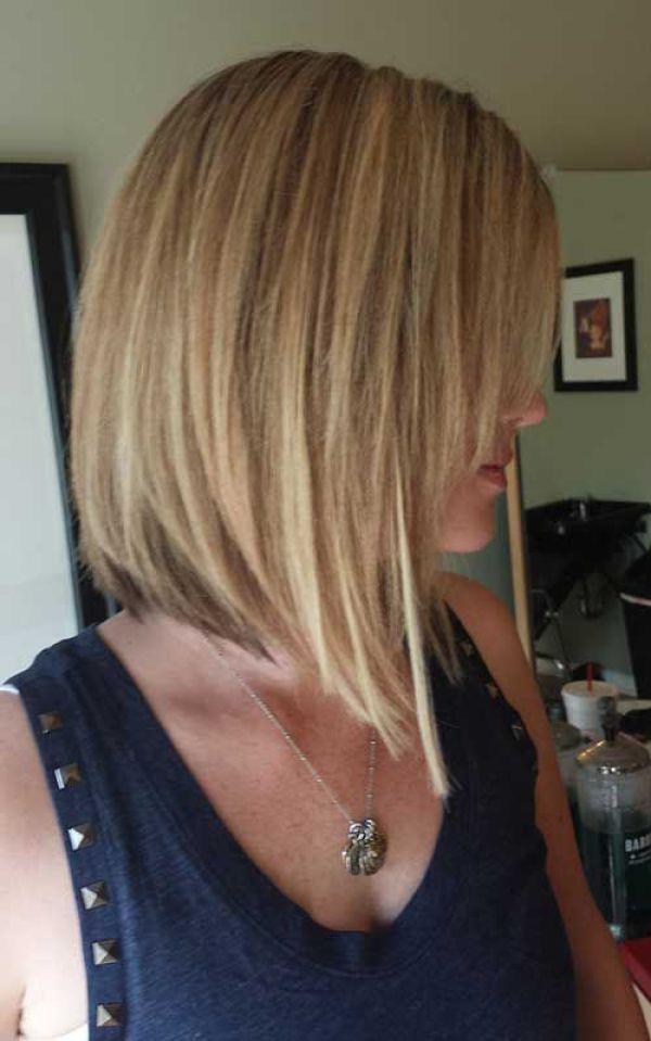 Inverted Lob Haircut Bob Haircuts For Fine Hairinverted Bob With