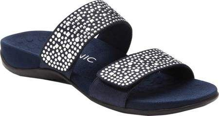 Sale Best Prices Cheap Buy Authentic Vionic with Orthaheel Technology Samoa Slide(Women's) -Pewter hpeJso