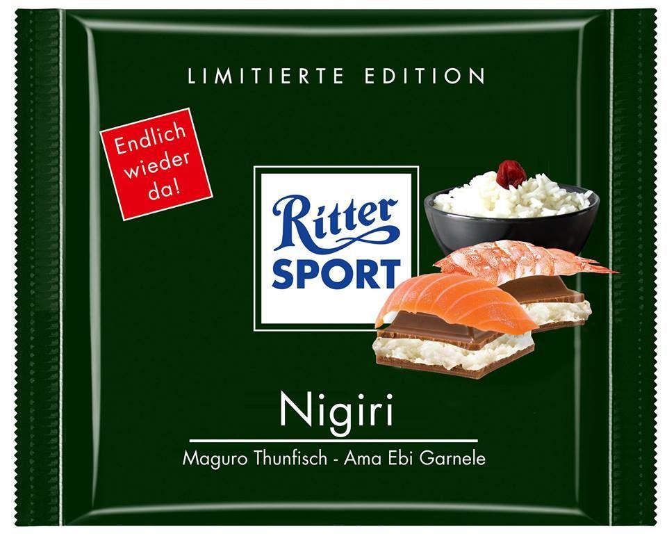 RITTER SPORT Fake Schokolade Nigiri (von bjoernk) | RITTER ...