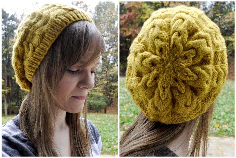 Marigold Slouch (Knit Pattern) | Crochet, Hat knitting ...