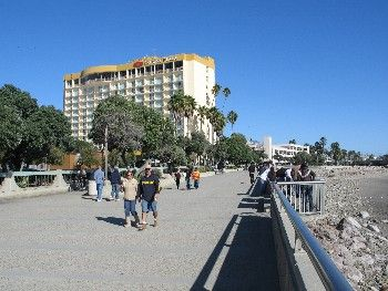 Boardwalk offers Ventura visitors a chance to people-watch along one of California's most scenic beaches: http://californiaweekend.com/california-vacation/ventura-county.php#