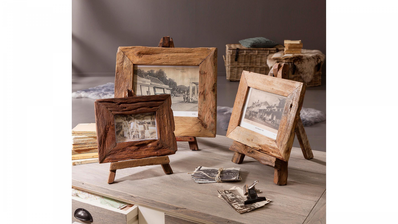 Naturschönheiten - Bilderrahmen: dunkles Teakholz - ca. 43 x 36 cm ...