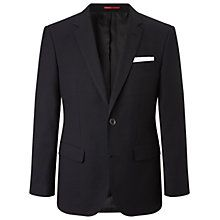 Buy HUGO by Hugo Boss C-Hutsons1 Micro Dot Slim Fit Blazer, Dark Blue Online at johnlewis.com