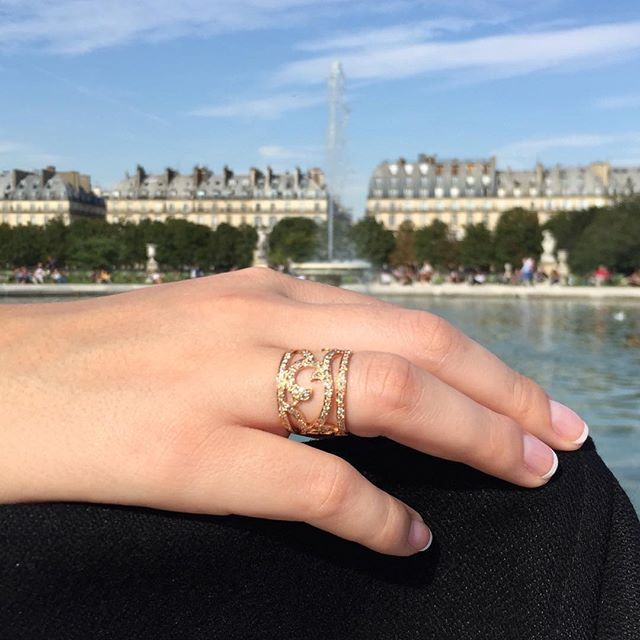 Château Euphorie - Jardin Secret Collection : Shiny walk in Paris.