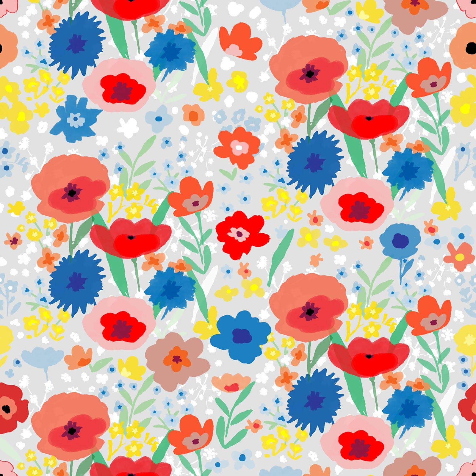 The Great British DIY Floral at V - print by Melanie Bowles, via diycouture