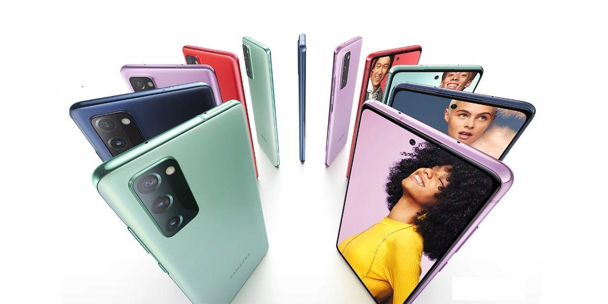 Samsung lanza el Galaxy S20 FE con pantalla plana y chip